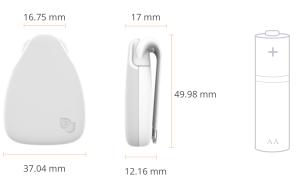 Jiobit - Size of device